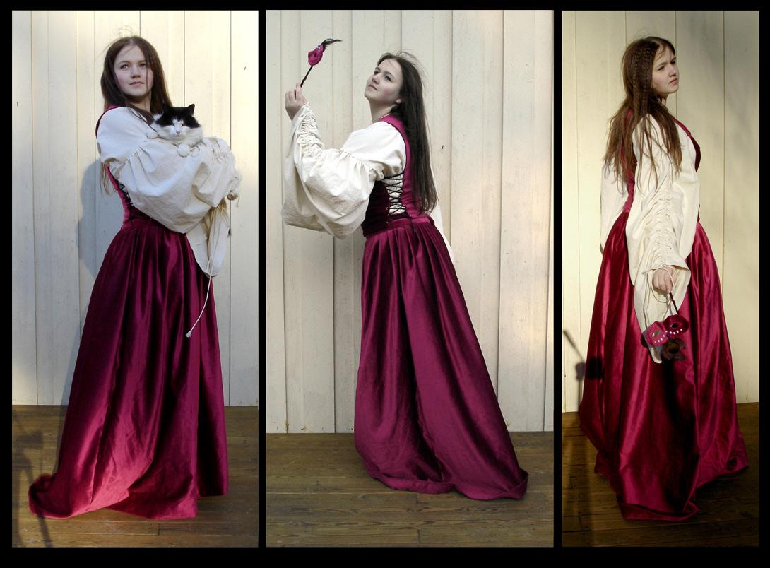Maskerade kostyme. Kostyme av Elisabeth Berggren Hansen