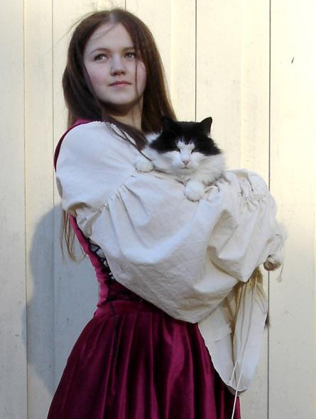 Maskerade kostyme - miniatyrbilde. Kostyme av Elisabeth Berggren Hansen