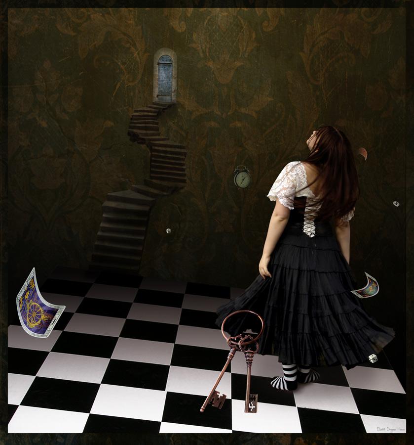 Destiny. Fotomanipulasjon av Elisabeth Berggren Hansen