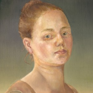 The Key - detaljbilde 1. Maleri av Elisabeth Berggren Hansen