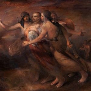 Crossing the Border av Odd Nerdrum
