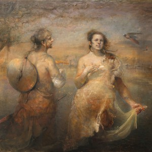 Egg Snatchers av Odd Nerdrum