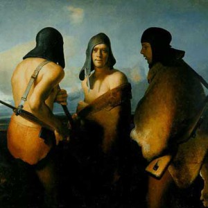 The Water Protectors (1985) av Odd Nerdrum