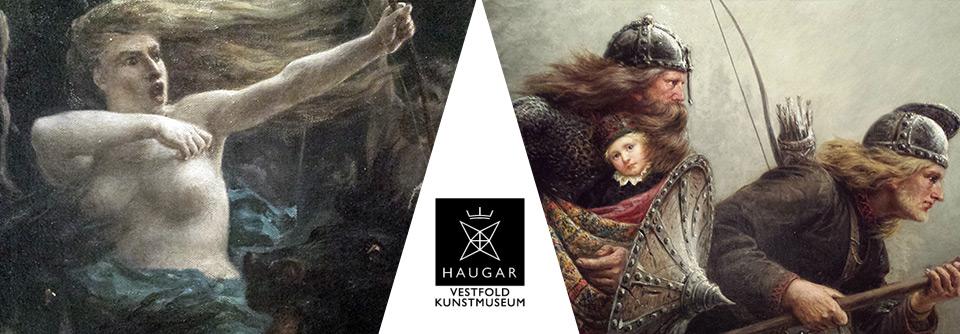 Vikingmytologier II - Utstilling på Haugard