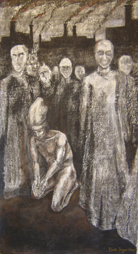 Untitled. Tegning av Elisabeth Berggren Hansen