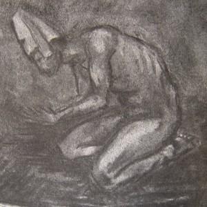 Untitled - prosessbilde 1. Tegning av Elisabeth Berggren Hansen