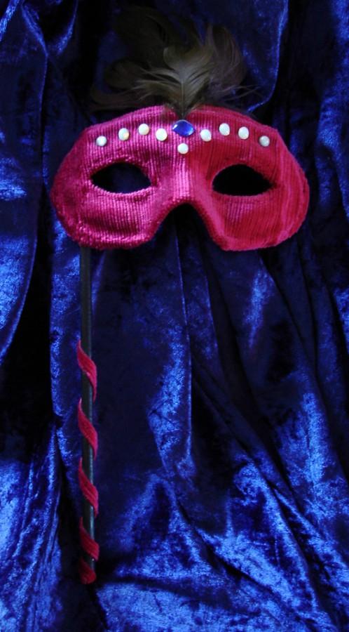 Maskerade maske. Maske av Elisabeth Berggren Hansen