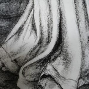 Stop Time - detaljbilde 5. Tegning av Elisabeth Berggren Hansen
