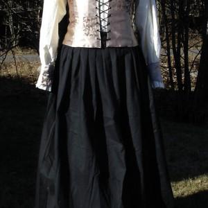 Renessanse kostyme. Søm av Elisabeth Berggren Hansen