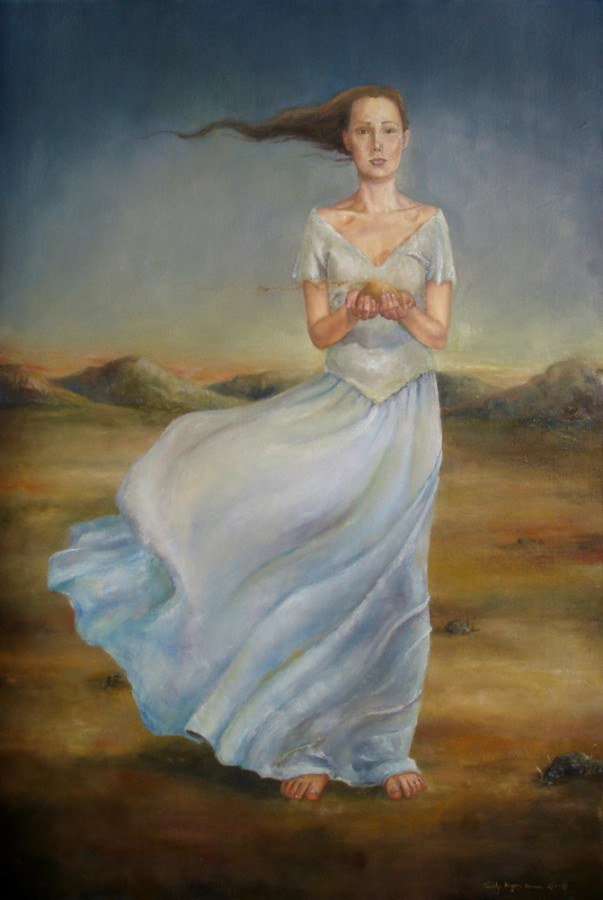 Losing my dreams. Maleri av Elisabeth Berggren Hansen