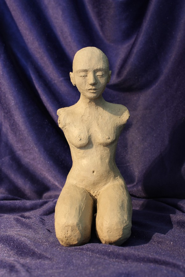 Fred. Skulptur av Elisabeth Berggren Hansen