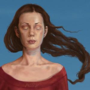 In a dream -detaljbilde 1. Digital tegning av Elisabeth Berggren Hansen