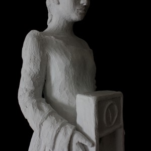 Den stille time - Skulptur av Elisabeth Berggren Hansen