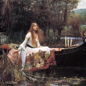 The Lady of Shallot, av John William Waterhouse, 1888
