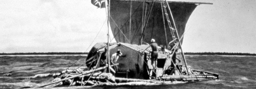 Kon-Tiki ekspedisjonen av Thor Heyerdahl