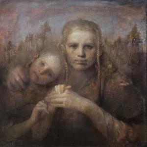 Mother and Daughter av Odd Nerdrum